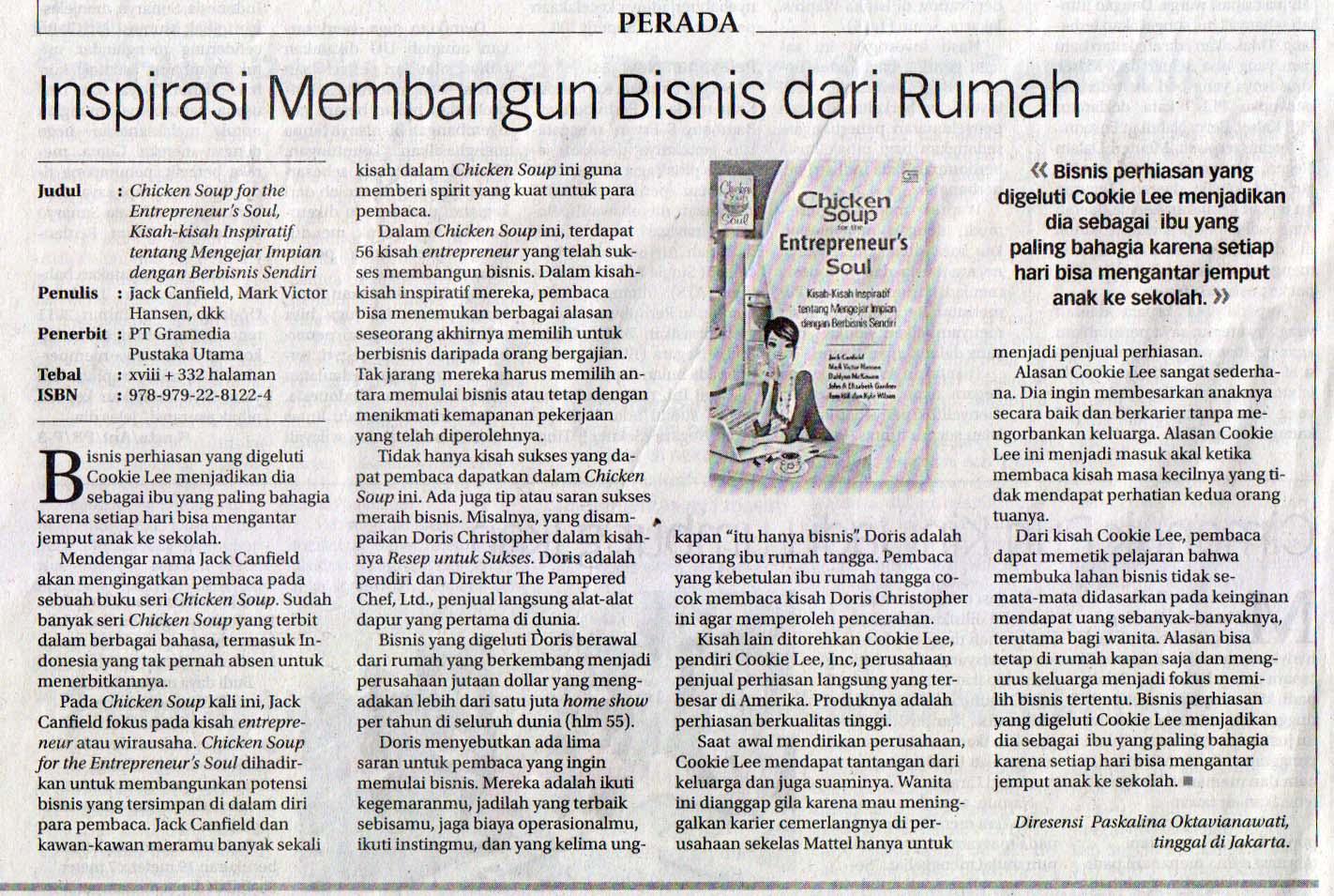 Koran Jakarta – Paskalina – ASKALIN