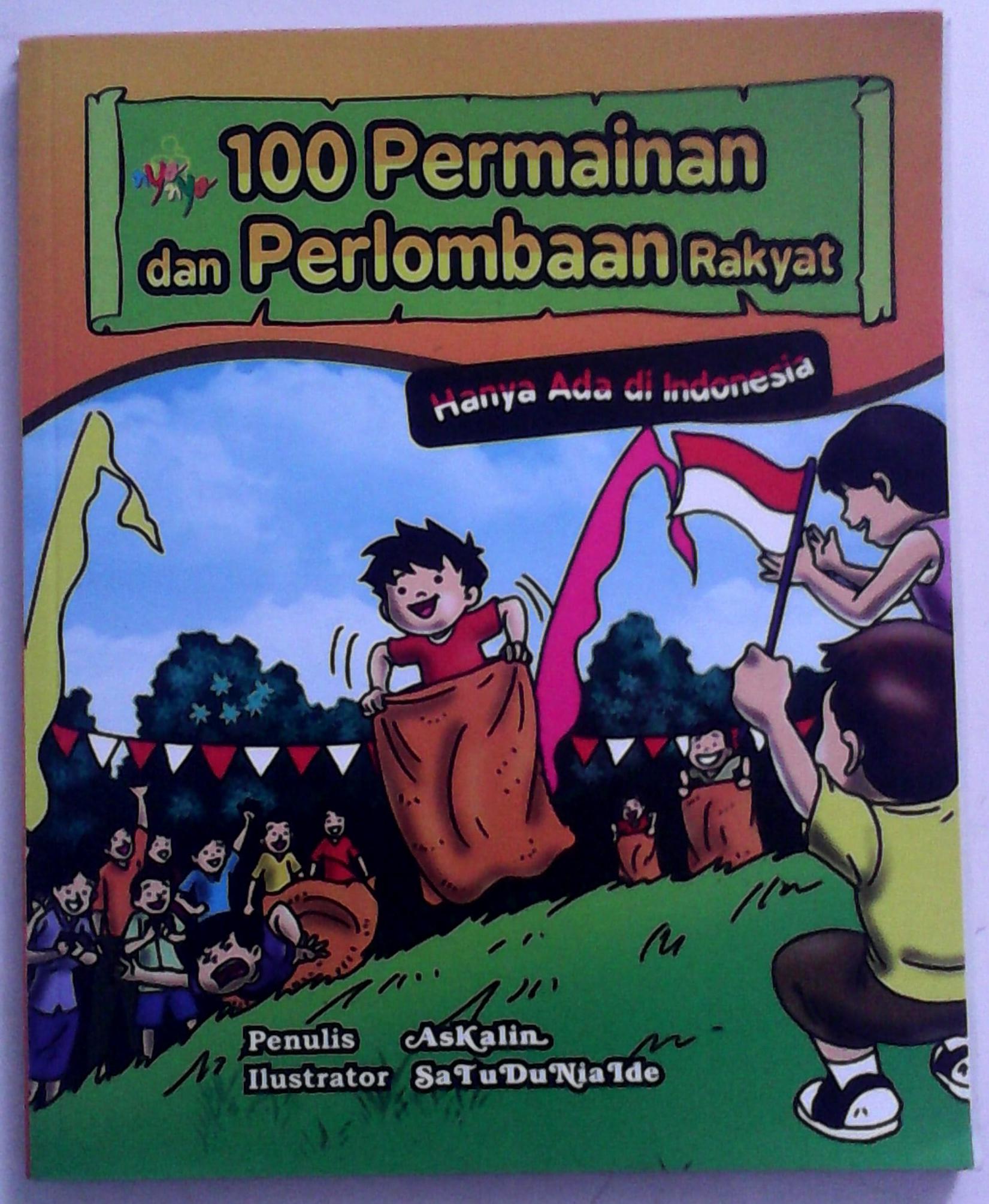 Askalin 2013 100 Permainan dan Perlombaan Rakyat